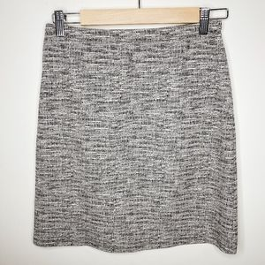 Le Lis Mottled Gray Pencil Skirt